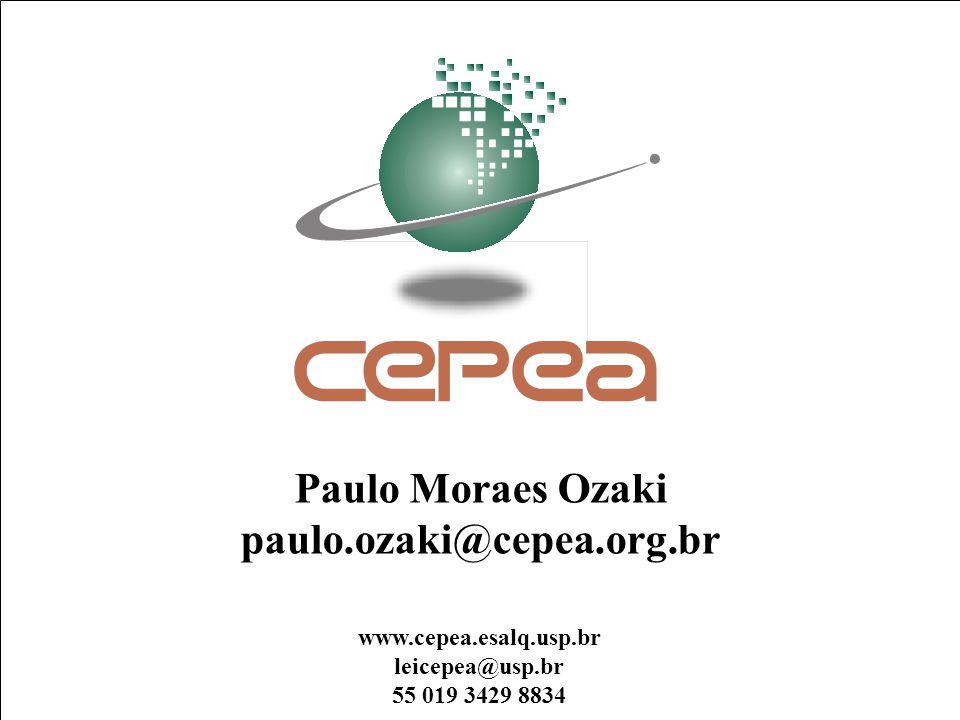 Paulo Moraes Ozaki paulo.ozaki@cepea.org.br