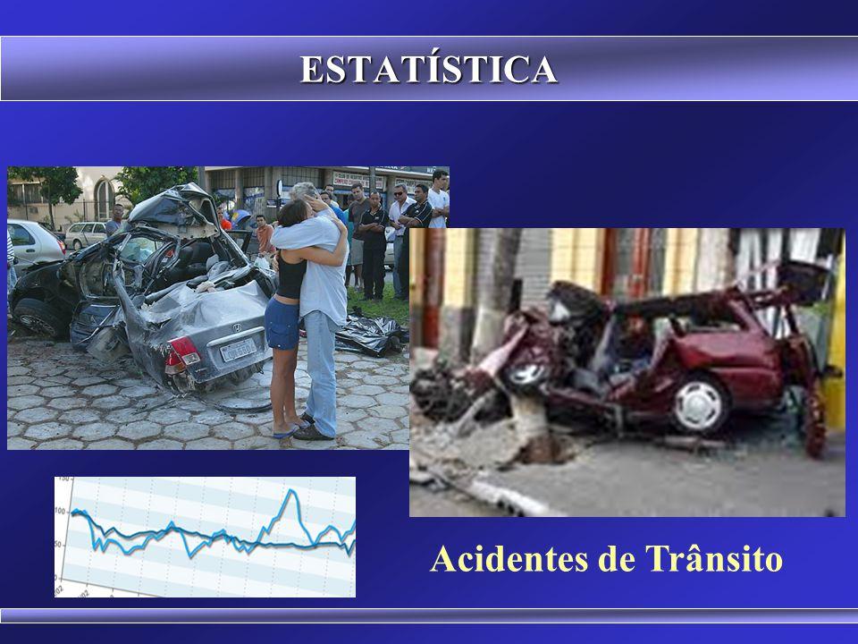 ESTATÍSTICA Acidentes de Trânsito