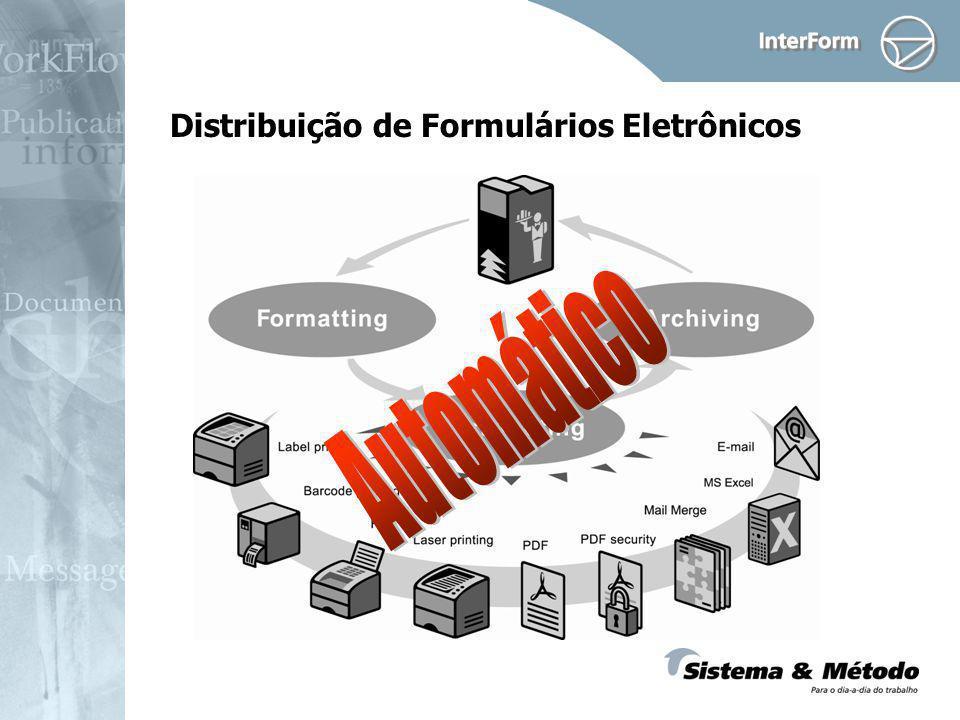 Distribuição de Formulários Eletrônicos