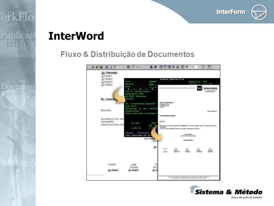 InterWord Fluxo & Distribuição de Documentos