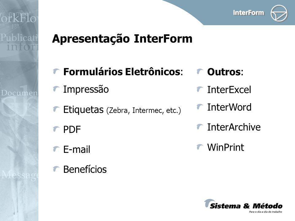 Apresentação InterForm