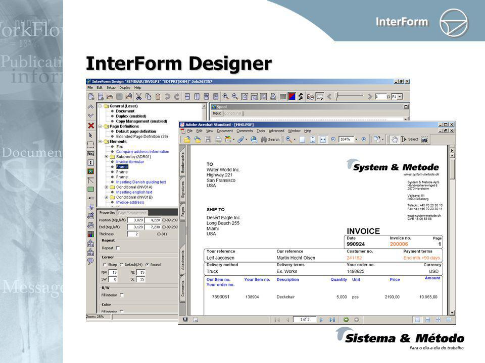 InterForm Designer