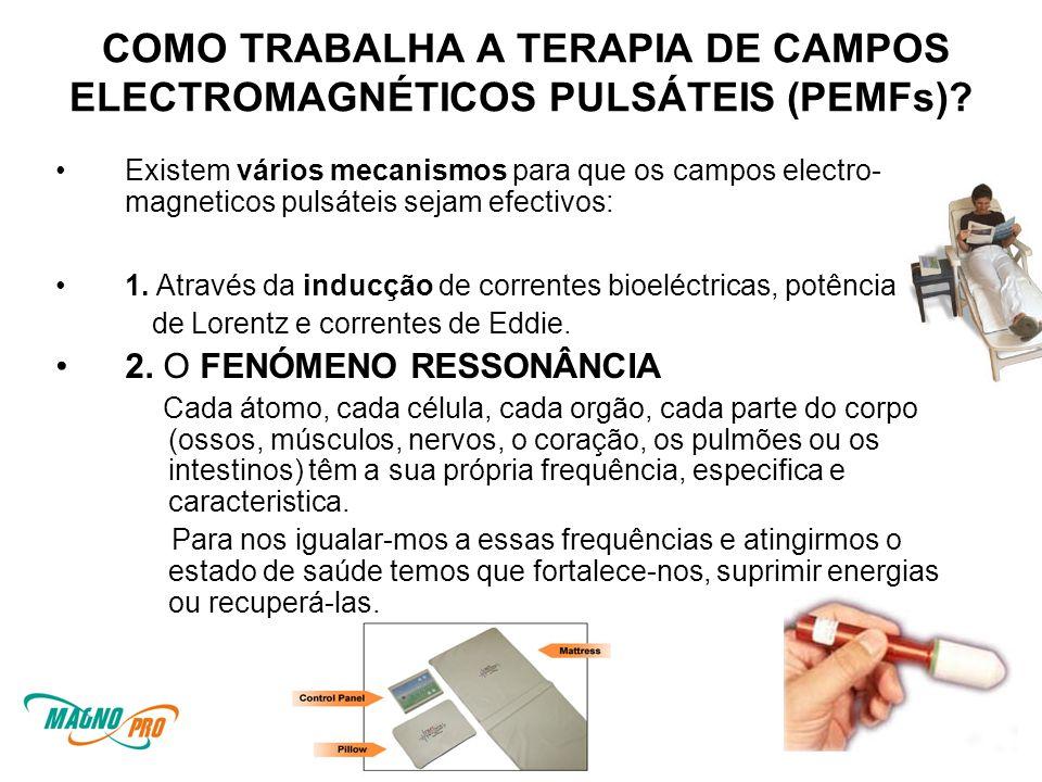COMO TRABALHA A TERAPIA DE CAMPOS ELECTROMAGNÉTICOS PULSÁTEIS (PEMFs)