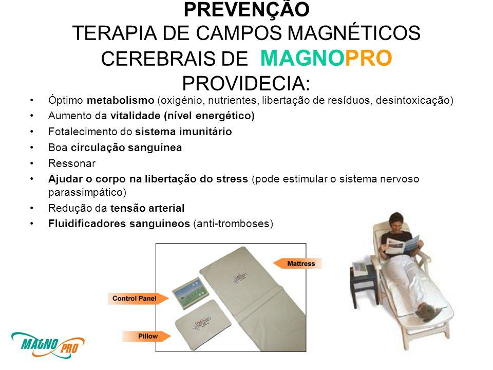 PREVENÇÃO TERAPIA DE CAMPOS MAGNÉTICOS CEREBRAIS DE MAGNOPRO PROVIDECIA: