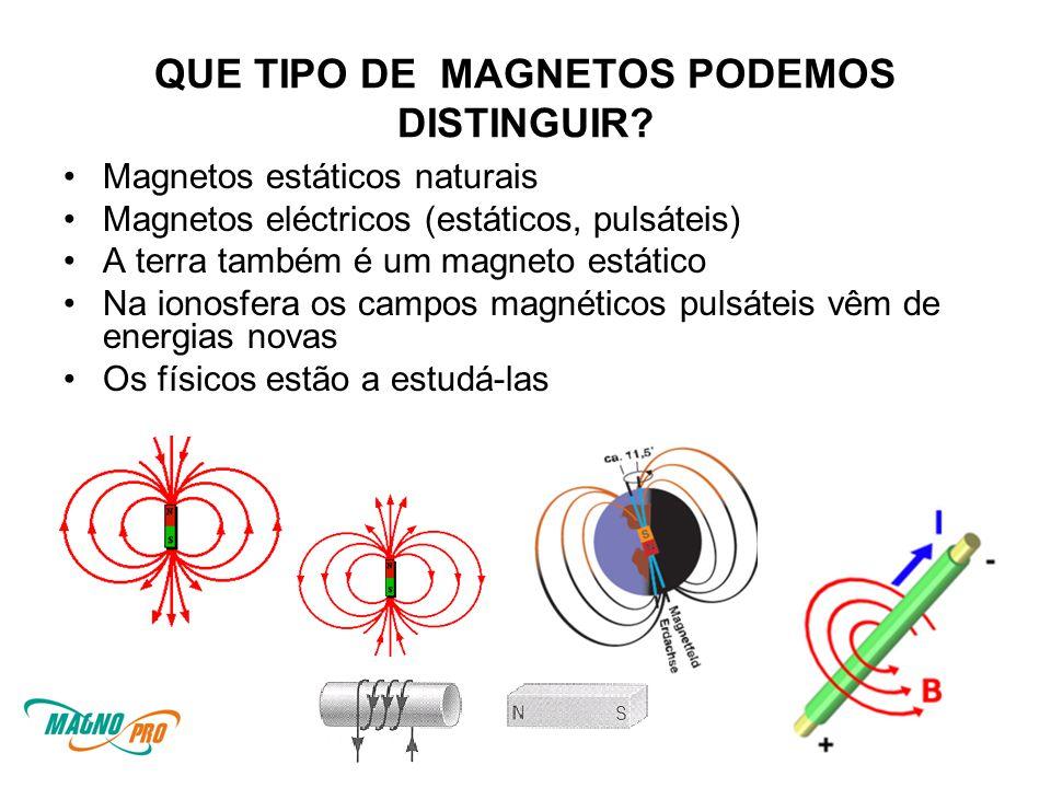 QUE TIPO DE MAGNETOS PODEMOS DISTINGUIR