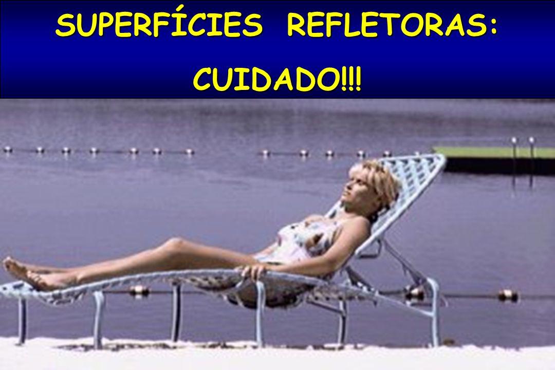 SUPERFÍCIES REFLETORAS: