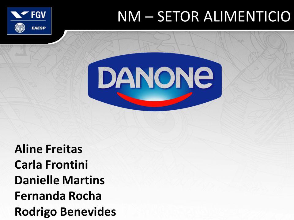 NM – SETOR ALIMENTICIO Aline Freitas Carla Frontini Danielle Martins