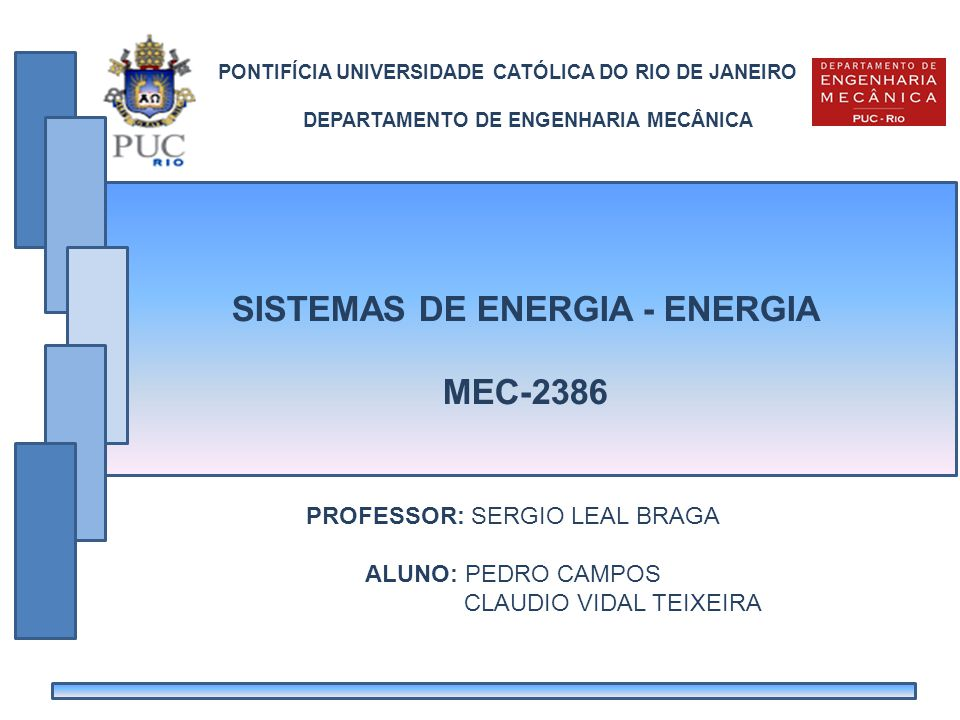 SISTEMAS DE ENERGIA - ENERGIA