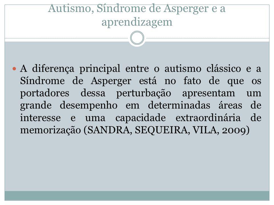 Autismo, Síndrome de Asperger e a aprendizagem