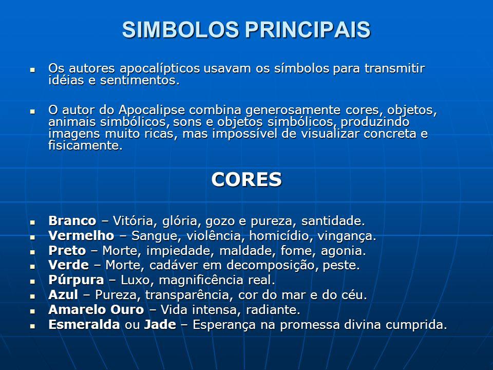 SIMBOLOS PRINCIPAIS CORES