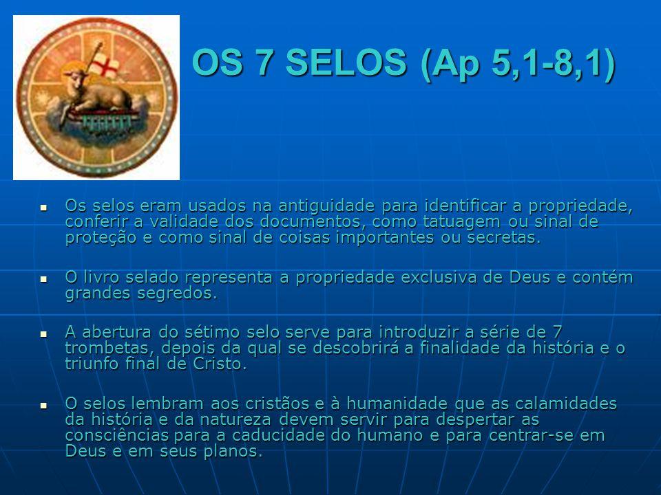 OS 7 SELOS (Ap 5,1-8,1)