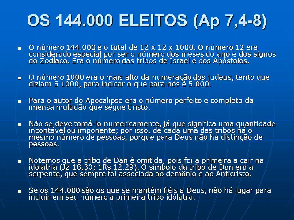 OS 144.000 ELEITOS (Ap 7,4-8)