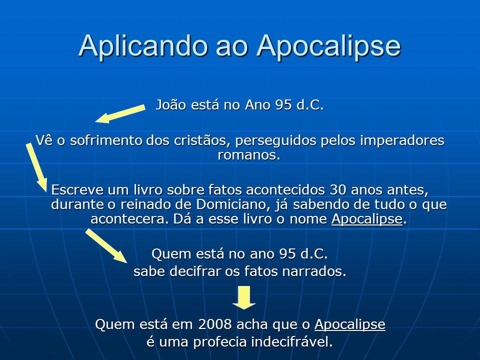 Aplicando ao Apocalipse