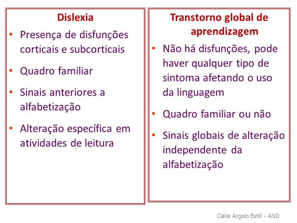 Transtorno global de aprendizagem