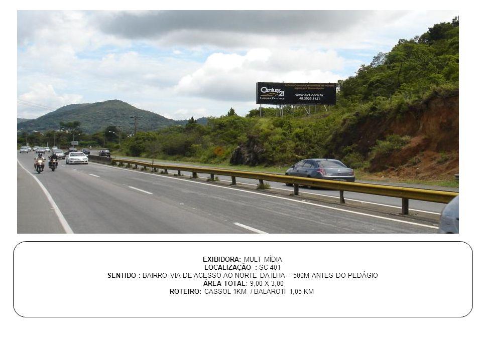 ROTEIRO: CASSOL 1KM / BALAROTI 1,05 KM