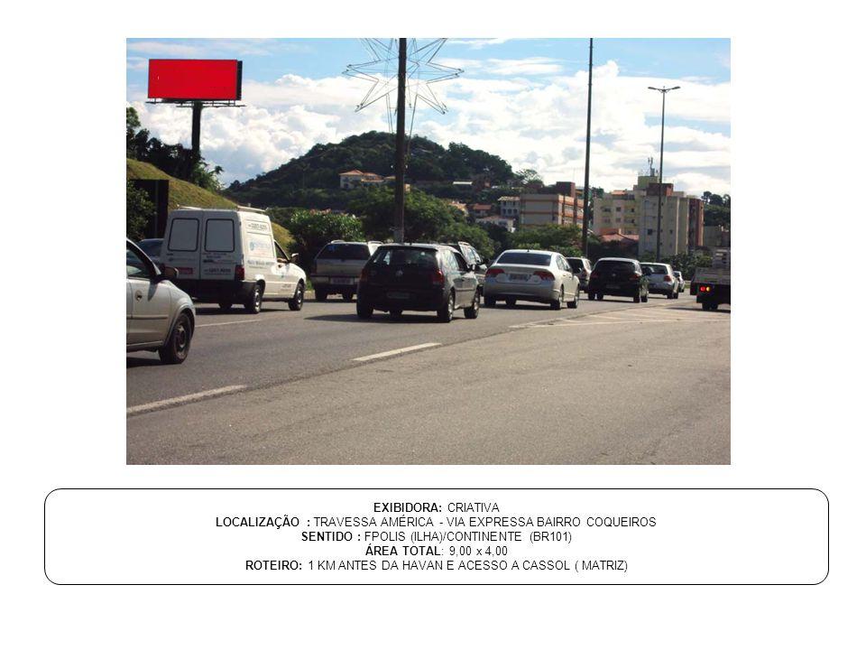 LOCALIZAÇÃO : TRAVESSA AMÉRICA - VIA EXPRESSA BAIRRO COQUEIROS