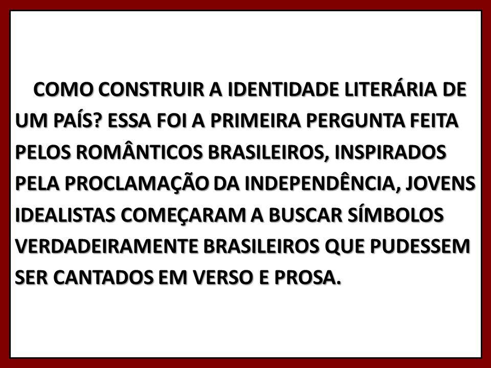 COMO CONSTRUIR A IDENTIDADE LITERÁRIA DE UM PAÍS