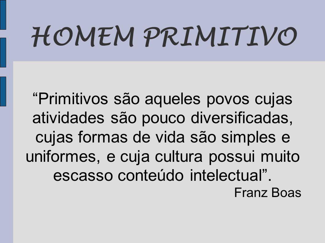 HOMEM PRIMITIVO
