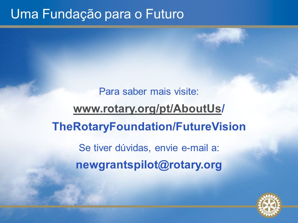Uma Fundação para o Futuro