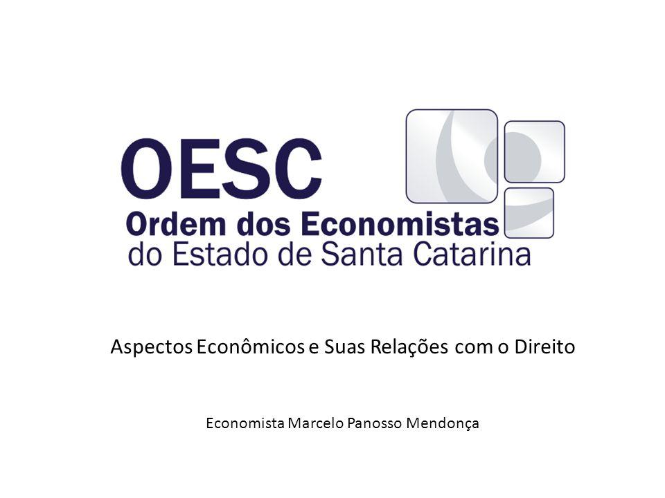Aspectos Econômicos e Suas Relações com o Direito Economista Marcelo Panosso Mendonça