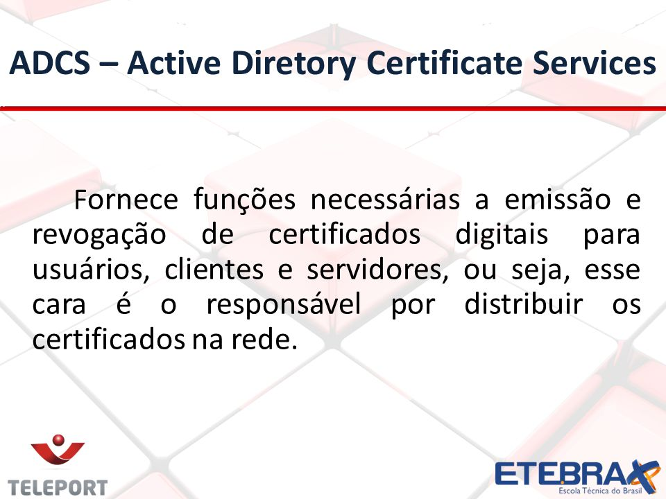 ADCS – Active Diretory Certificate Services