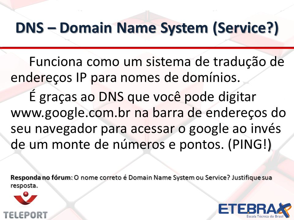 DNS – Domain Name System (Service )