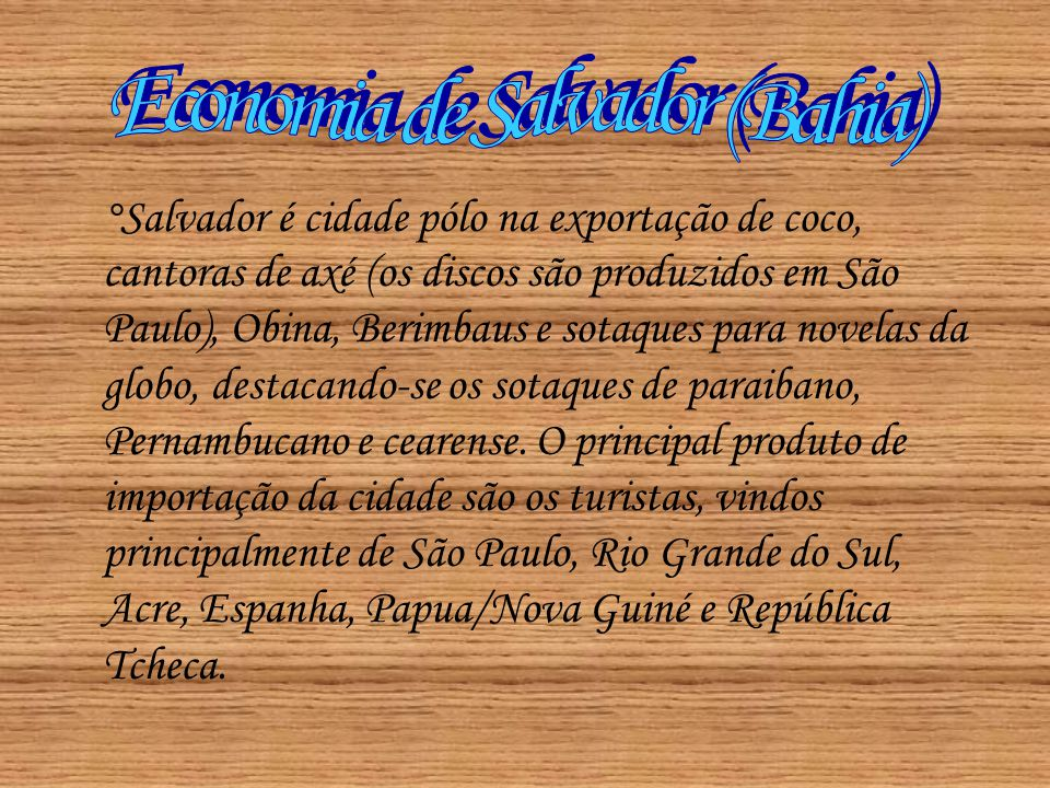 Economia de Salvador (Bahia)