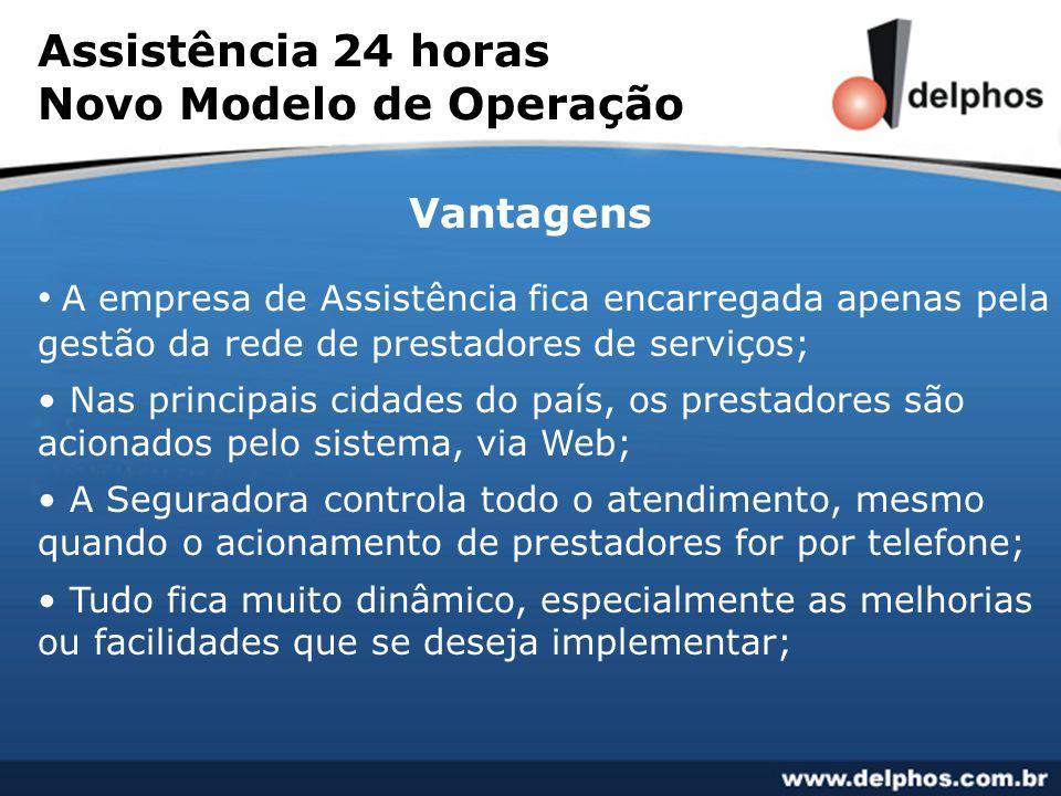 Assistência 24 horas Novo Modelo de Operação
