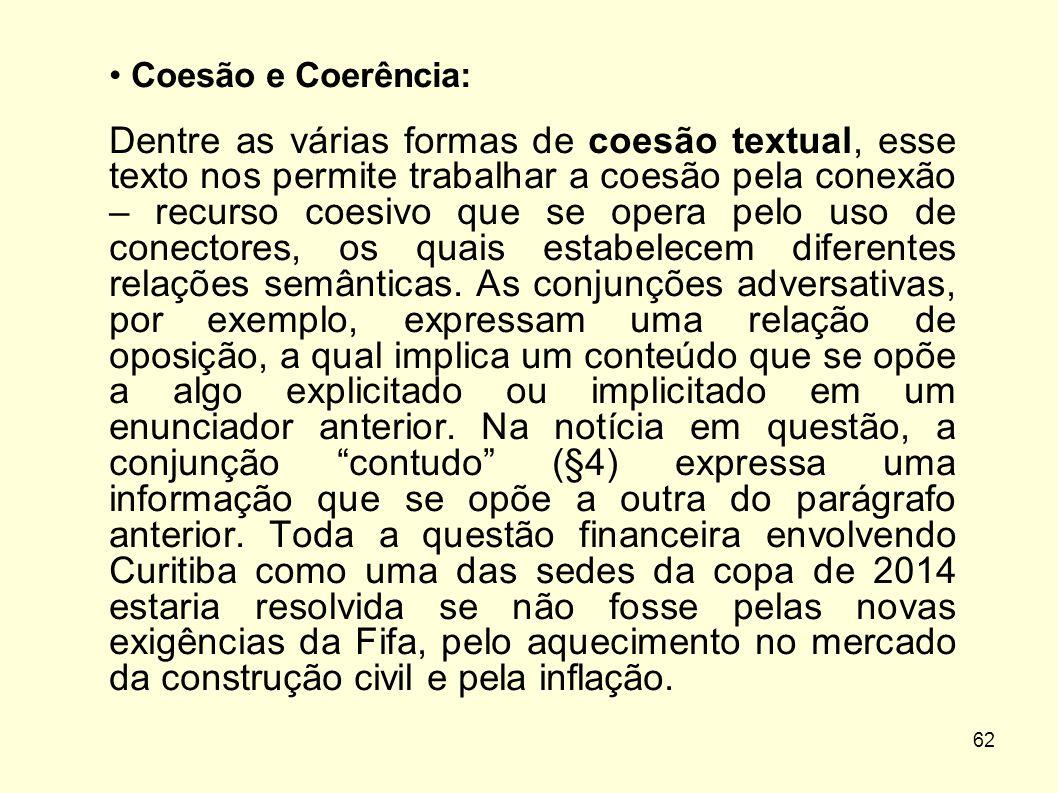 Coesão e Coerência: