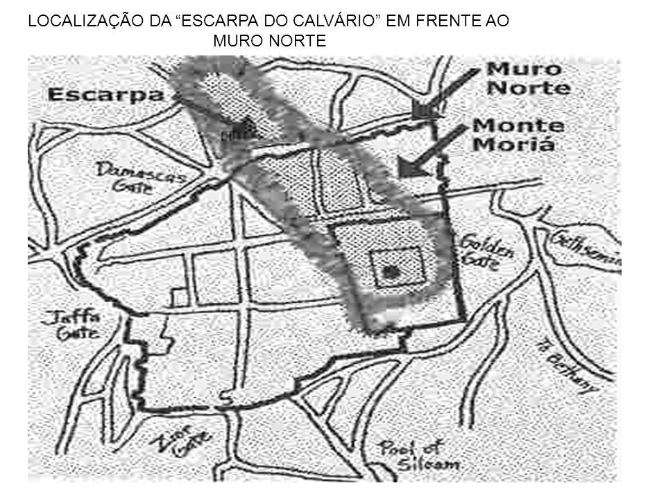 LOCALIZAÇÃO DA ESCARPA DO CALVÁRIO EM FRENTE AO