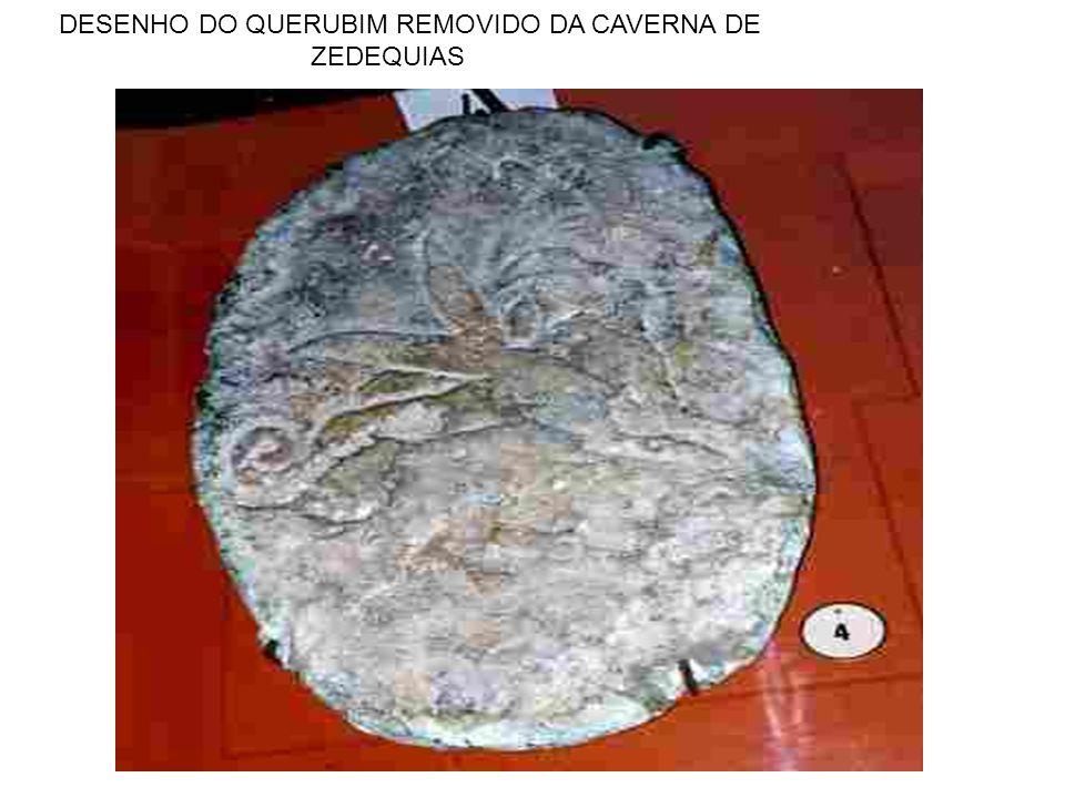 DESENHO DO QUERUBIM REMOVIDO DA CAVERNA DE