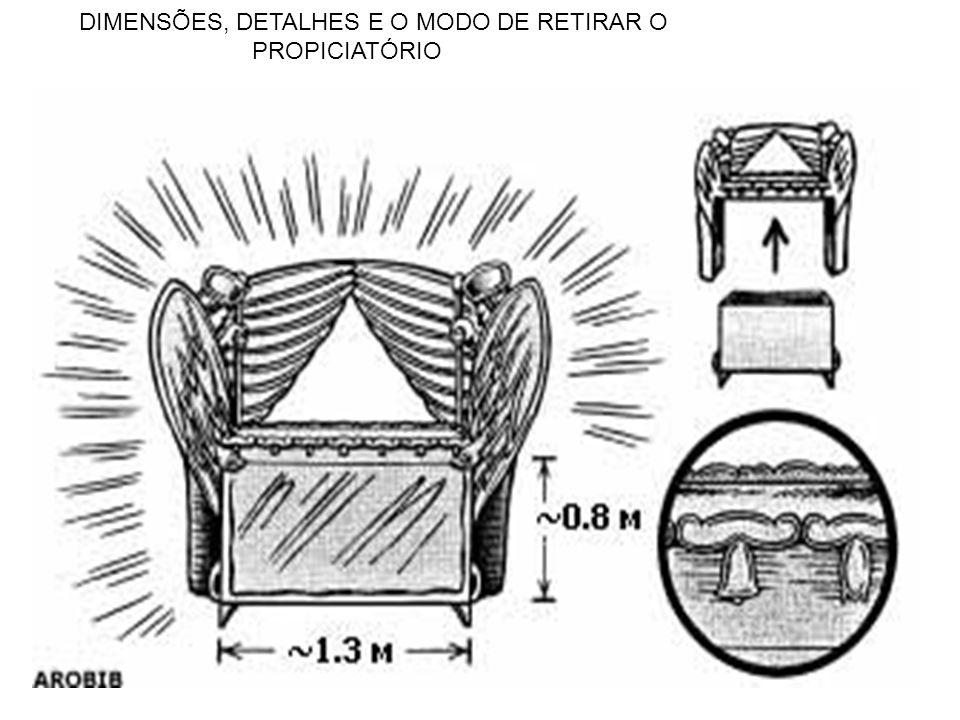 DIMENSÕES, DETALHES E O MODO DE RETIRAR O