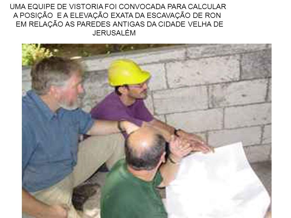 UMA EQUIPE DE VISTORIA FOI CONVOCADA PARA CALCULAR