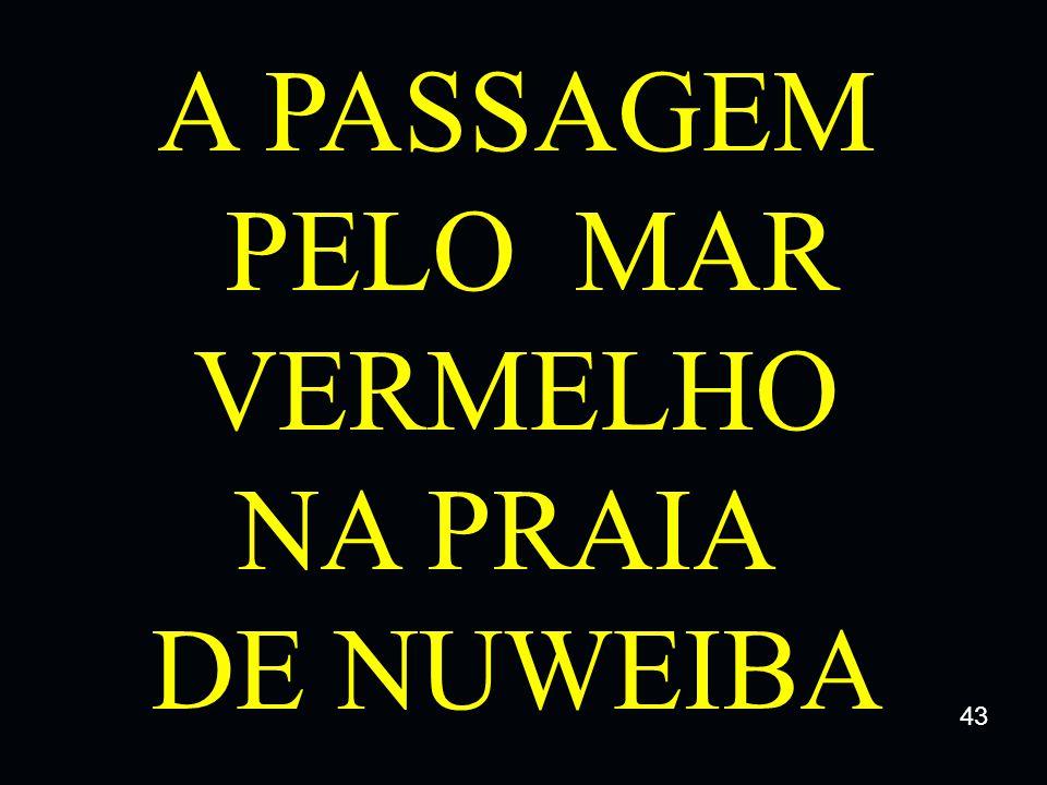 A PASSAGEM PELO MAR VERMELHO NA PRAIA DE NUWEIBA 43