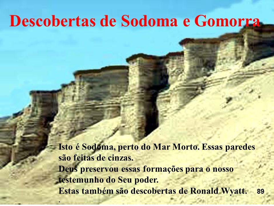 Descobertas de Sodoma e Gomorra