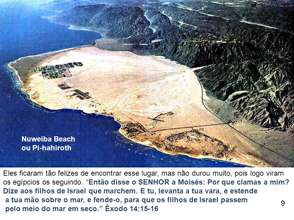 Nuweiba Beach ou Pi-hahiroth.