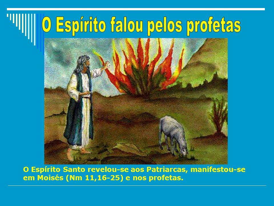O Espírito falou pelos profetas