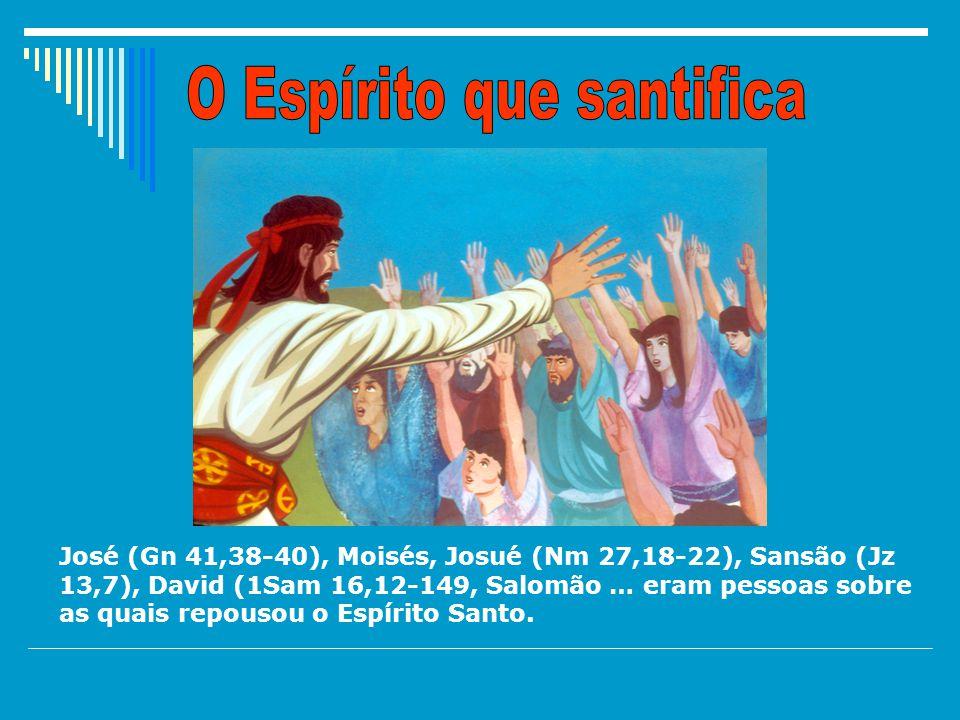 O Espírito que santifica