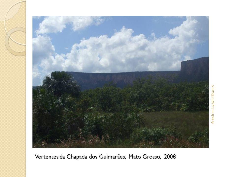 Vertentes da Chapada dos Guimarães, Mato Grosso, 2008