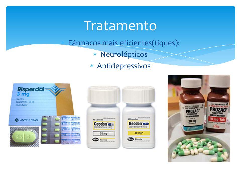 Fármacos mais eficientes(tiques):