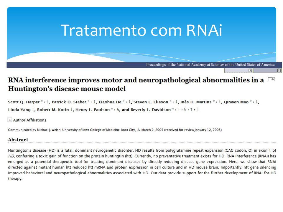Tratamento com RNAi
