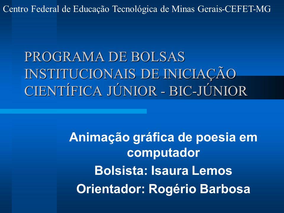 Centro Federal de Educação Tecnológica de Minas Gerais-CEFET-MG