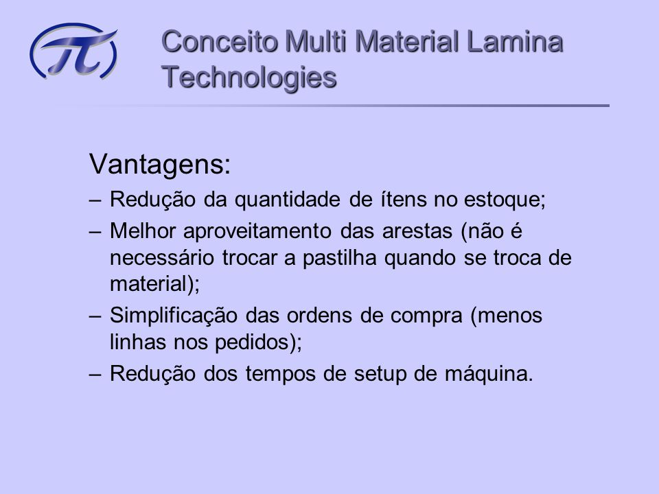 Conceito Multi Material Lamina Technologies