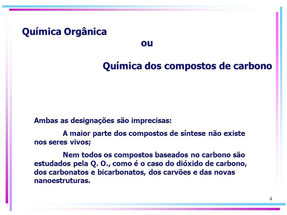 Química dos compostos de carbono