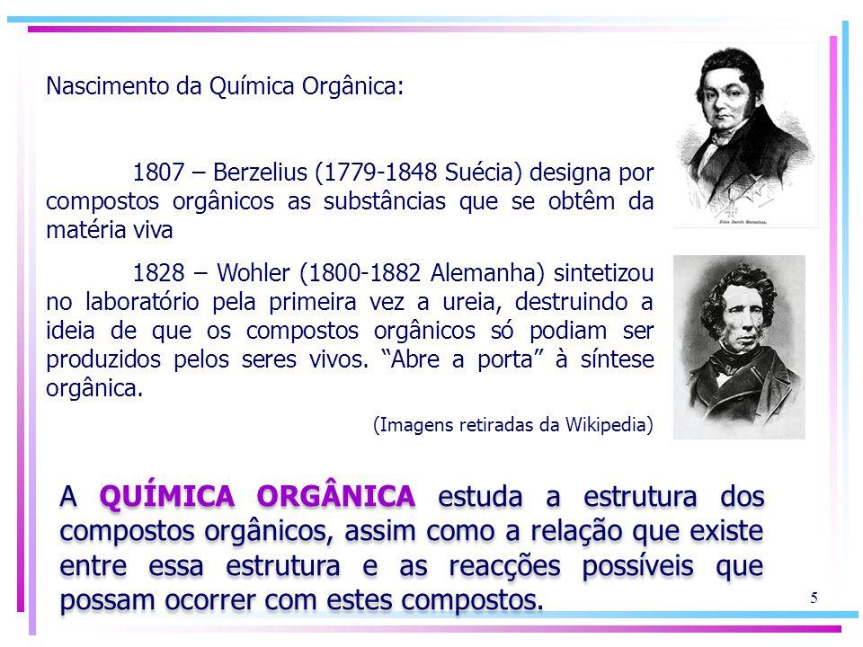 Nascimento da Química Orgânica:
