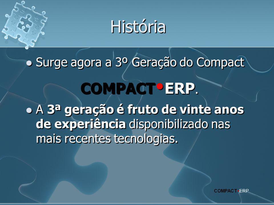 História Surge agora a 3º Geração do Compact COMPACTERP.