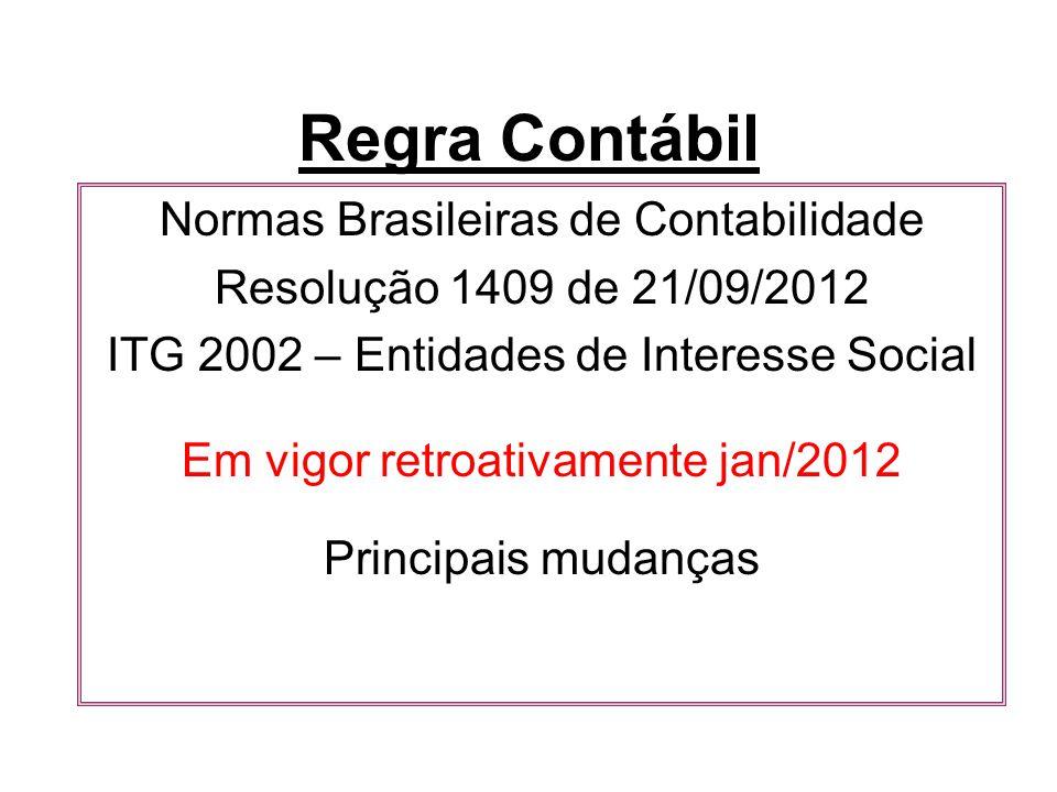 Regra Contábil Normas Brasileiras de Contabilidade