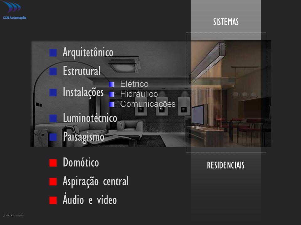 Arquitetônico Estrutural Instalações Luminotécnico Paisagismo Domótico