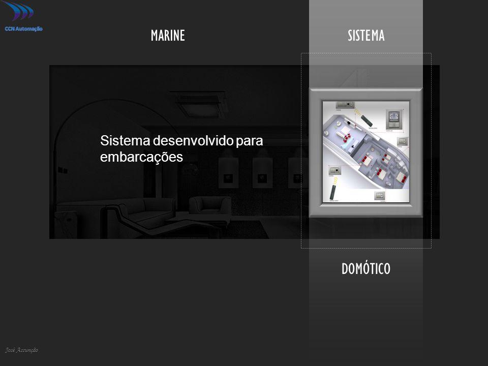 MARINE SISTEMA DOMÓTICO Sistema desenvolvido para embarcações