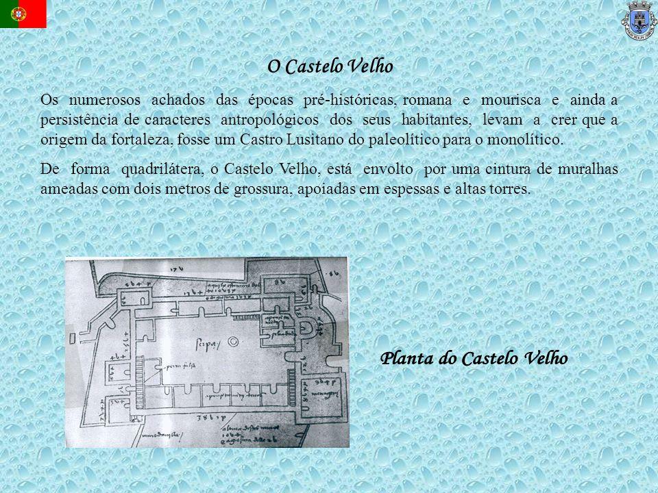 Planta do Castelo Velho